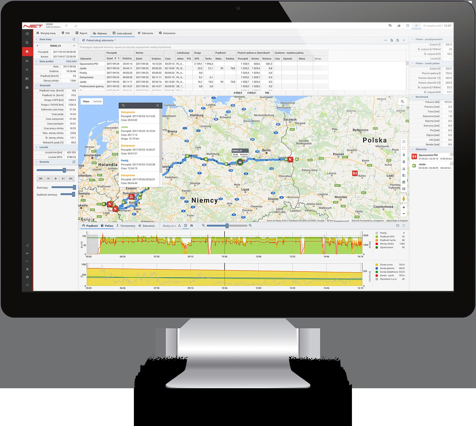 Autosatnet Route Desktop